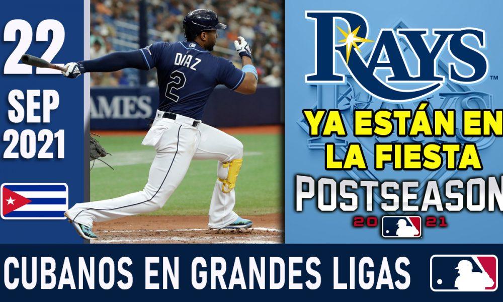 Resumen Cubanos en Grandes Ligas - 22 Sep 2021