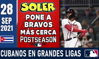 Resumen Cubanos en Grandes Ligas - 28 Sep 2021